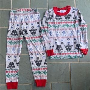Hanna Andersson size 110 Star Wars PJs.